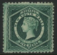 NSW, MINT, #65 OG LH, VERY ATTRACTIVE, GREAT CENTERING