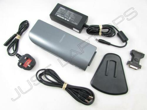 PSU Toshiba Satellite A60 A80 USB 2.0 Docking Station Port Replicator w// DVI