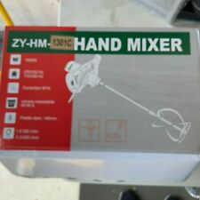 Zy Hm 1301c Cement Concrete Grout Painting 1600w Electric Hand Held Mixer