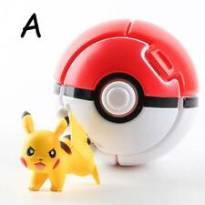 Bounce Pokemon Pokeball Cosplay Pop-up Elf Go Fighting Poke Ball Toy Gift Red