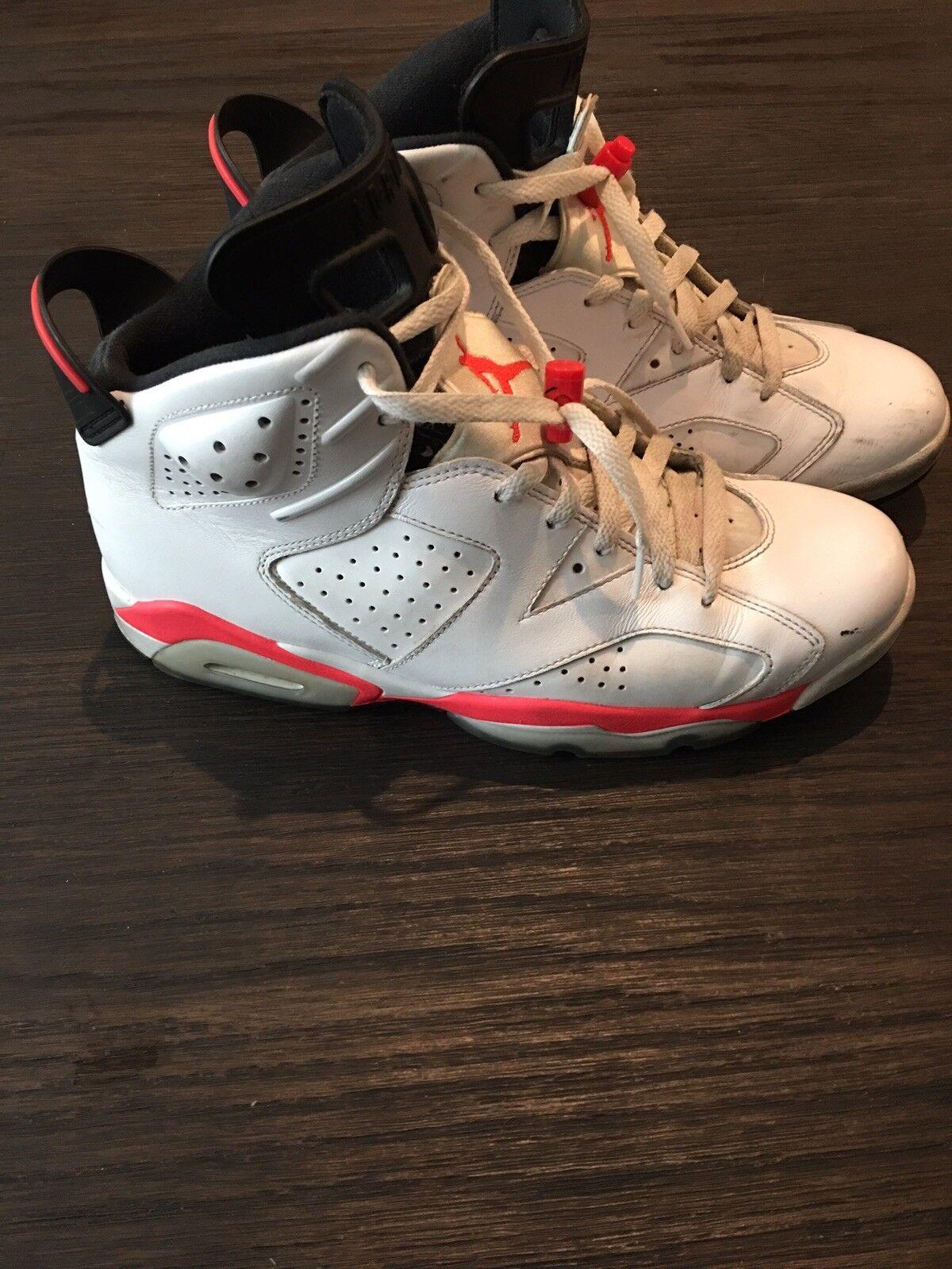 Air Jordan 6 - White Infrared - Size 10.5