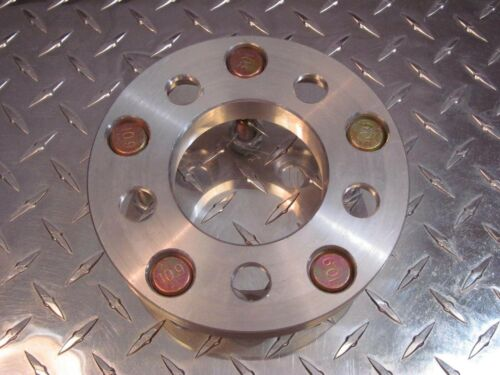 5x115 to 5x5 5x127 Wheel Adapters 20mm Thick 12x1.5 Lug Stud Billet Spacers x4