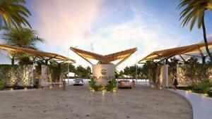 Terreno en venta en privada residencial Playales cerca de  Telchac Yucatán