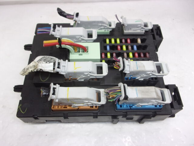 2014 Ford Focus Body Control Module Inside Fuse Panel Assy Id Dv6t