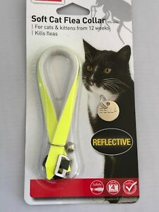 REFLECTIVE-Cat-Flea-Collar-Cat-kitten-collar-with-bell-With-Engraved-Pet-ID-Tag