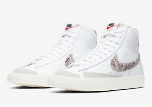 Details about NIKE BLAZER MID WE VINTAGE '77 REPTILE CI1176-101 : WHITE,  SAIL : UK 9, 10, 11