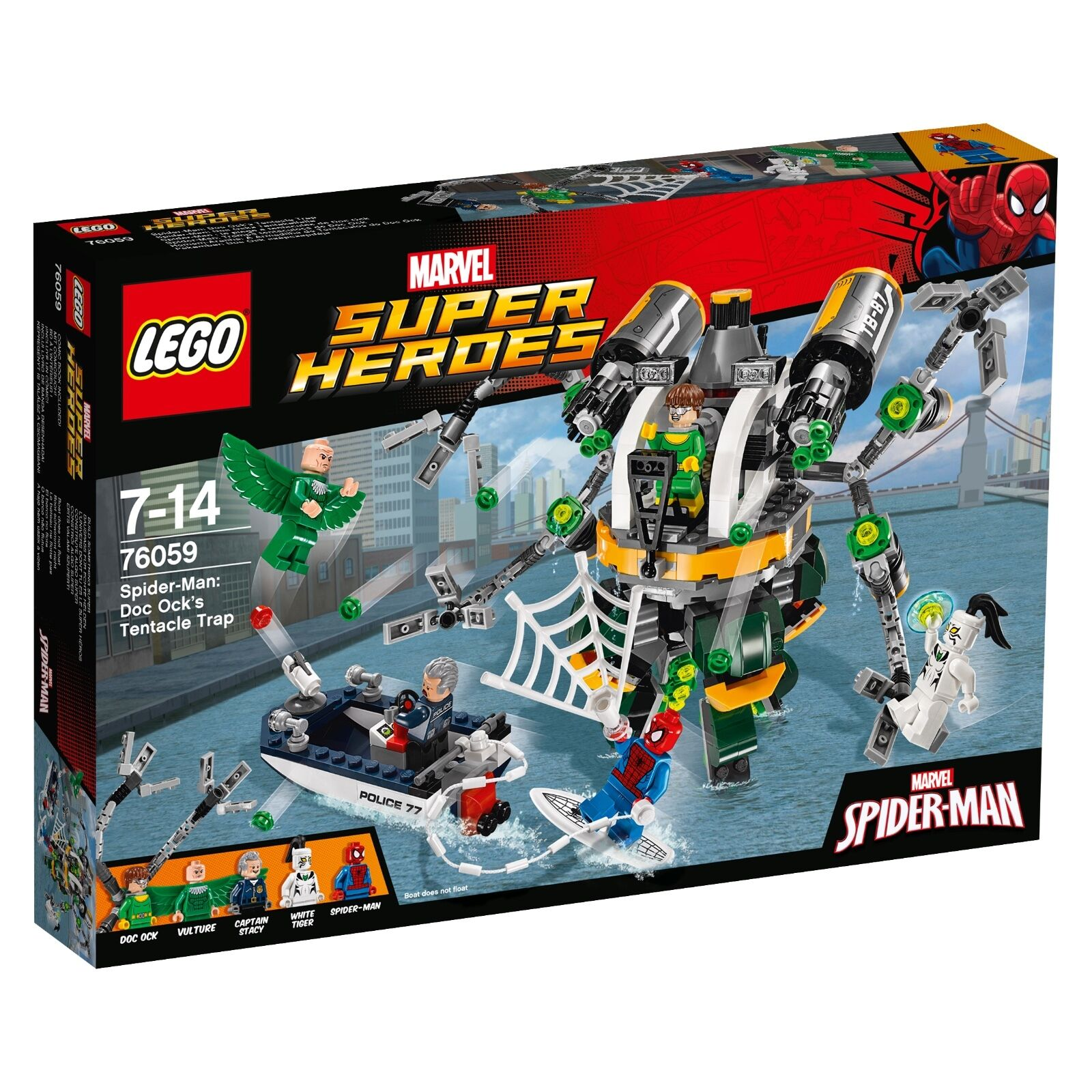 LEGO® Marvel Super Heroes 76059 Spider-Man  Doc Ocks Tentakelfalle NEW OVP_ NRFB