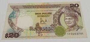 Malaysia 6th Series Jaffar RM20 TF First Prefix