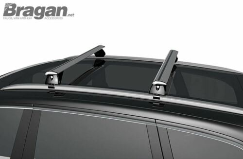 Honda HR-V Locking Cross Bars for Integrated Roof Solid Rails To Fit 2016