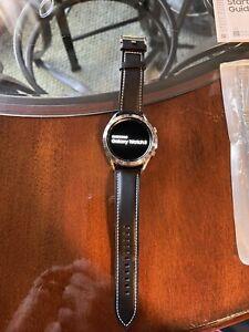 Samsung Galaxy Watch3 SM-R845 45mm Mystic Silver Stainless Steel Case. 4G.