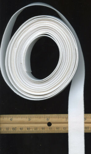"""5 yds 7//8/"""" 22mm Thick /& Strong White Waistband Elastic FAST FREE USA Shipping"""