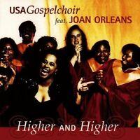 CD Album USA Gospelchoir feat. Joan Orleans Higher And Higher 90`s EDEL