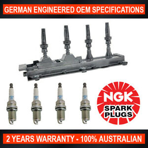 4x-Genuine-NGK-Spark-Plugs-amp-1x-Ignition-Coils-for-Citroen-Xantia-X1-2-0L