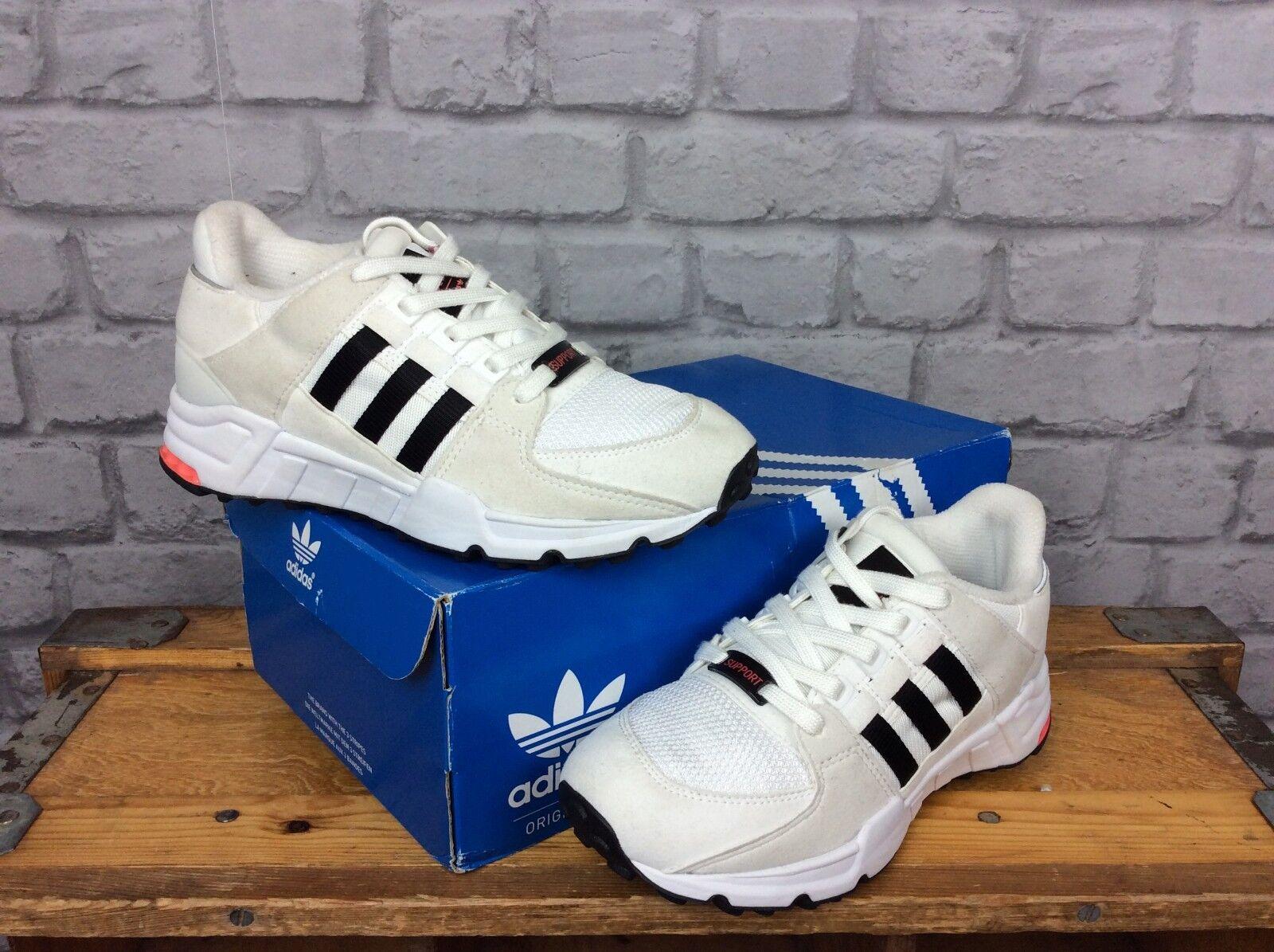 Adidas Femmes UK 3 EU Rose 35 1/2 Équipement Noir Blanc Rose EU Torsion Baskets 2fc437