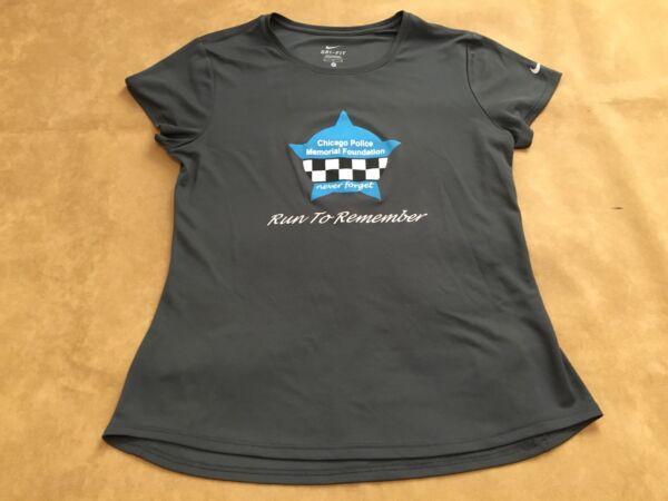 fb6bc1efe74bc2 Chicago Police Run To Remember Nike Dri Fit Size Medium