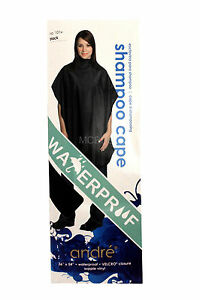 Andre waterproof shampoo haircutting styling cape velcro for Motor city beauty salon