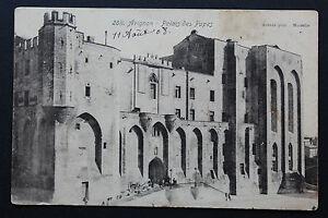 Tarjeta-Postal-Antigua-CPA-Avignon-Palacio-De-Papas