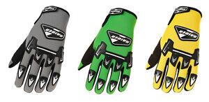 Raider Adult MX Gloves Motocross Dirt Bike ATV Trail Riding BMX