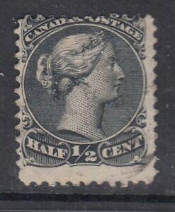 Canada-Scott-21-1-2-cent-black-034-Large-Queen-034-F