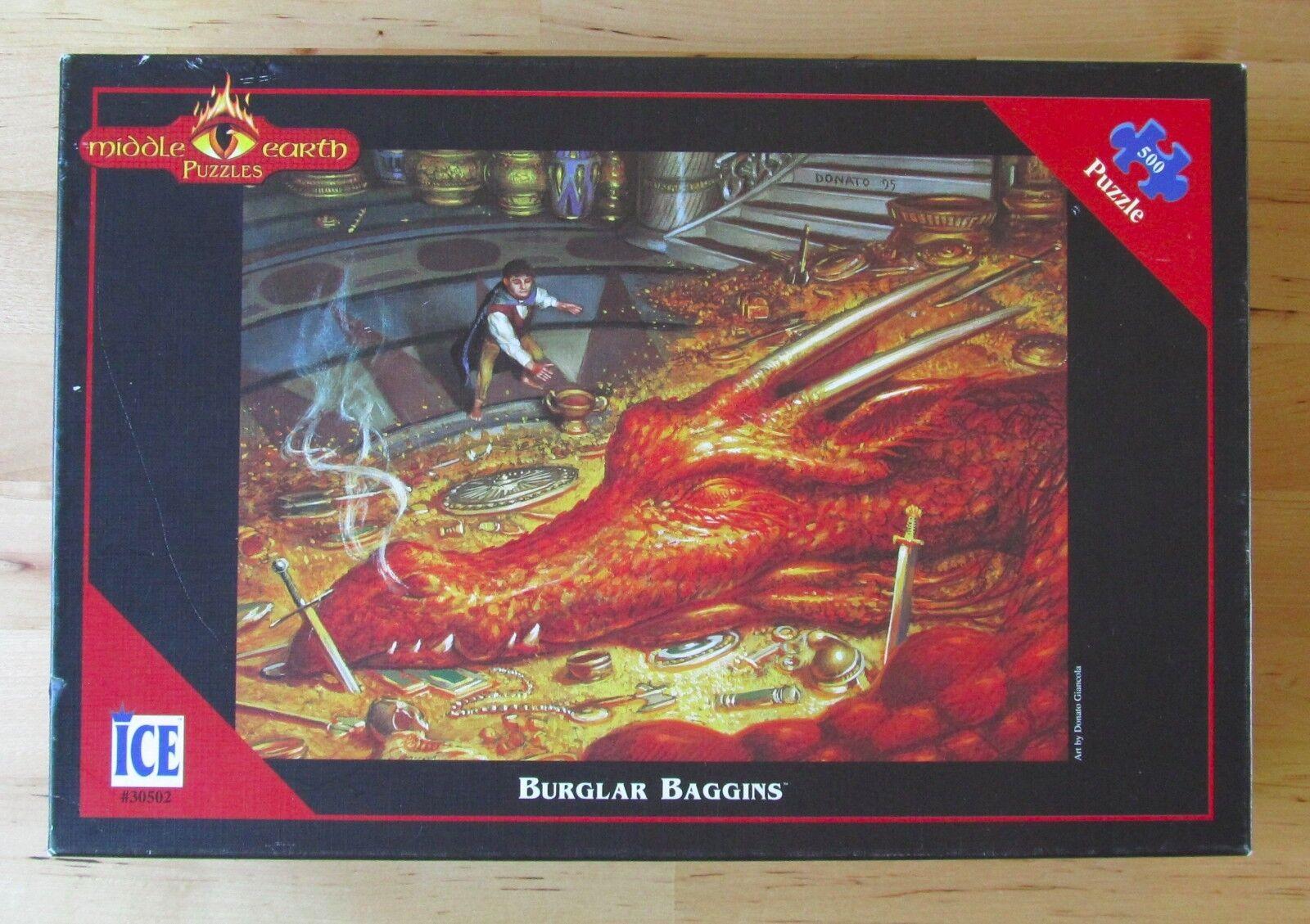 1997 Middle Earth Puzzle Cambrioleur Bilbo Bilbo 500 pieces Donato Giancola  30502