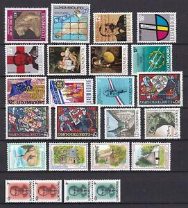 Luxembourg-Cachet-millesime-1989-voir-photos