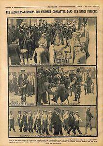 Prestation-de-Serment-Alsaciens-Lorrains-Caserne-Armee-Francaise-WWI-1914