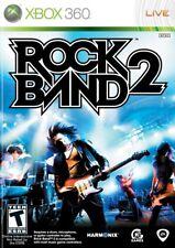 Rock Band 2 (Microsoft Xbox 360, 2008)