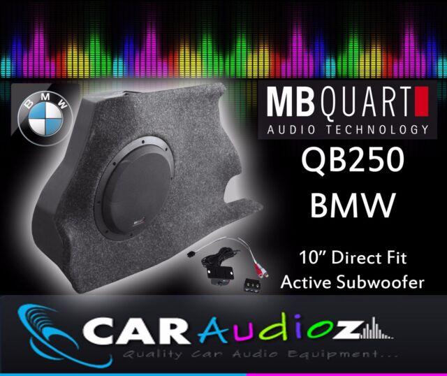 MB QUART qb-250 BMW1 activo Caja 25cm a medida SUBWOOFER qb250 Mejor