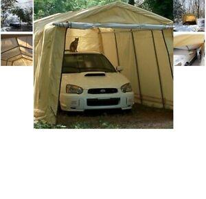 ShelterLogic AutoShelter 10 x 15 x 8 ft. Instant Garage ...