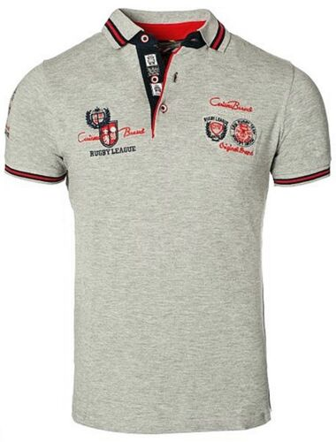 Brandneu Designer Polo-Shirt von CARISMA in 8 Farben CRM4011