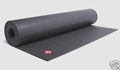 MANDUKA BLACK PRO Yoga Mat New 71X26 GUARANTEED 4 LIFE best-selling mat palates