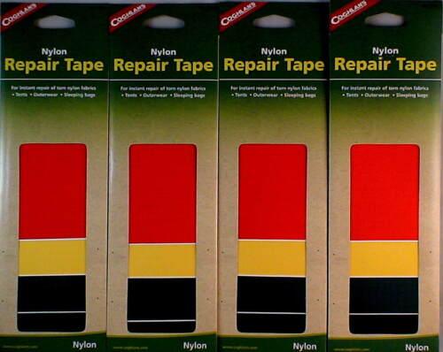 16 PC NYLON REPAIR TAPE INSTANT REPAIR OF TORN NYLON FABRICS TENTS OUTERWEAR