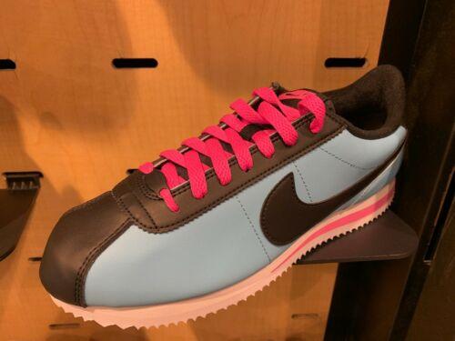 Nike Cortez Miami Bleu Gale laser noir fuchsia en cuir SZ 8-13 New Dead Stock NEUF