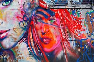Details About Cool Graffiti Street Art Canvas 59 Contemporary Abstract Pop Art Wall Hanging