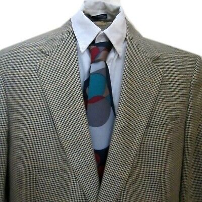 New 315 Austin Reed Houndstooth Tweed Sportcoat 2 Button Usa All Season 42xl 755315829265 Ebay