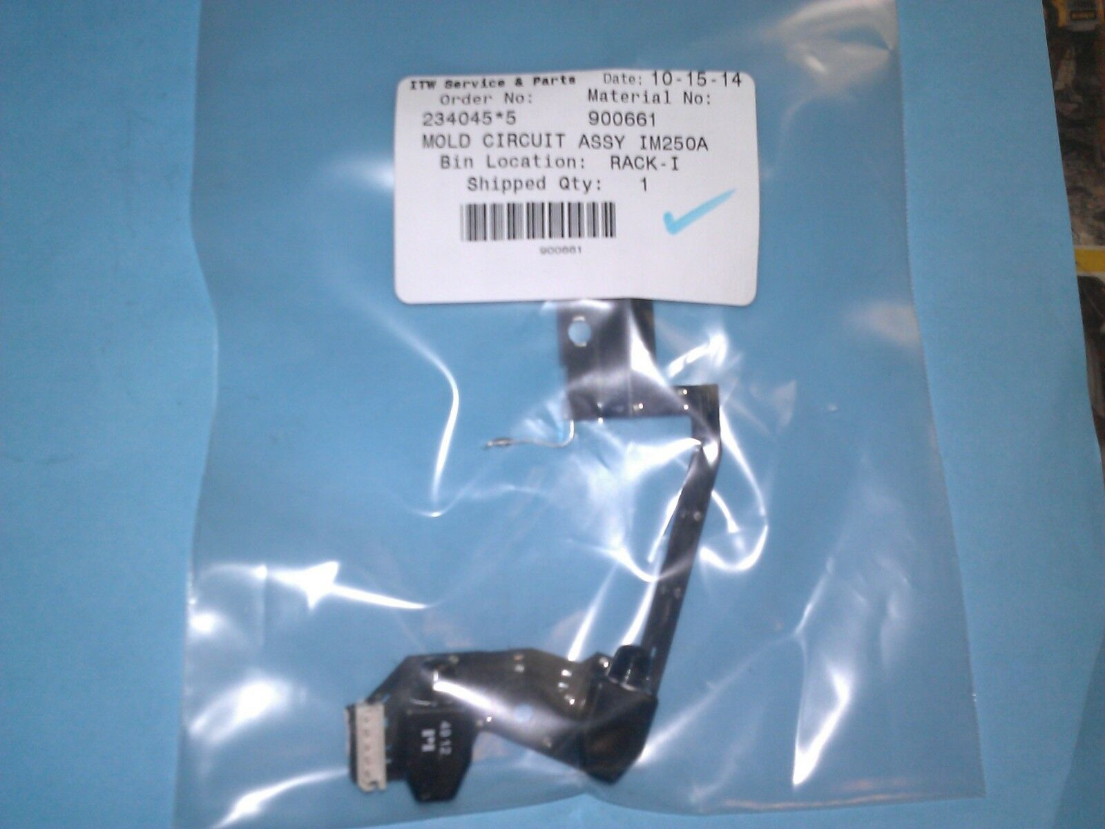 NEW 900661 MOLDED CIRCUIT BOARD FOR PASLODE IM250A