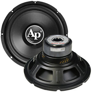 "NEW Audiopipe 12"" Woofer 1000W Max 4 Ohm DVC TSPP212D4"