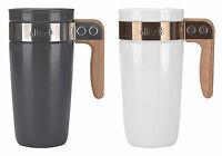 Ello Fulton Bpa-free Ceramic 16 Oz Travel Mug With Lid, 2 Colors