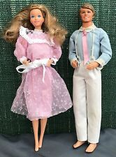 #9078 Barbie #9069 Ken Happy Family Famille Doucoeur 1986 vintage Taïwan