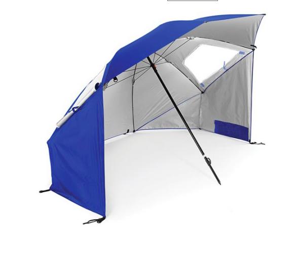 Beach Umbrella Sun Wind Protection Tent