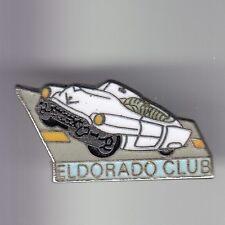 RARE PINS PIN'S .. AUTO CAR ANCIENNE OLD CADILLAC ELDORADO CLUB USA FRANCE ~C6