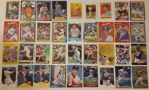 PAUL MOLITOR LOT of 55 insert base cards HOF NM+ 1988-1999 Brewers Twins Blue J