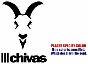 CHIVAS Mexico Soccer Football JDM Vinyl Decal Sticker Car Window - Soccer custom vinyl decals for car windows
