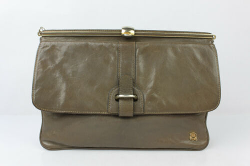 Grey Uitstekende Mole Leather Clutch kwaliteit Andre Vintage Bag YqwgfnI