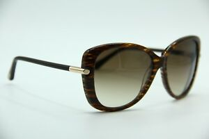 5bf4c0d0bb9 TOM FORD TF 324 50F LINDA BROWN GRADIENT AUTHENTIC SUNGLASSES W CASE ...