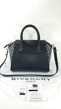 NWT $3140 Givenchy Black White Antigona Small w/ Receipt, Dustbag, and Tag