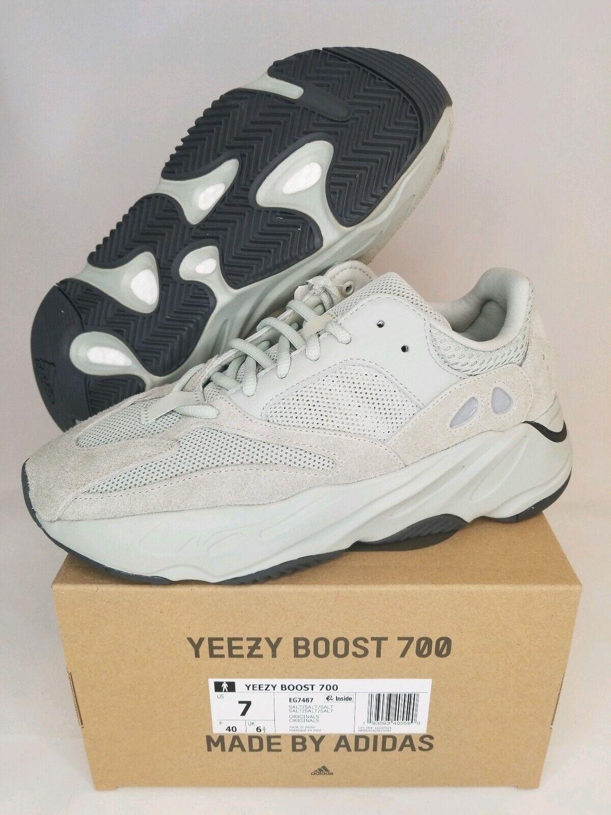 NEW ADIDAS YEEZY BOOST 700 SALT MEN'S Size 7EG7487 Kanye West