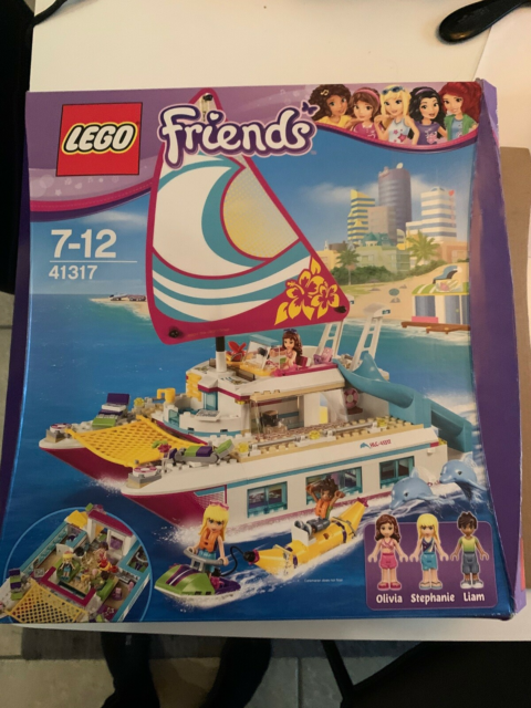 Lego Friends, Yacht