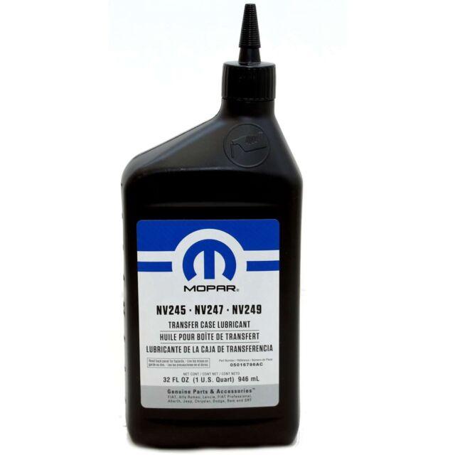 MOPAR JEEP CHRYSLER Verteilergetriebeöl 1 Liter NV245 NV247 NV249 05016796GC