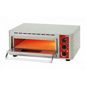 FäHig Pizzaofen Flammkuchenofen Bistroofen 0-350 °c Für 1x Ø 43 Cm Pizza Gastlando